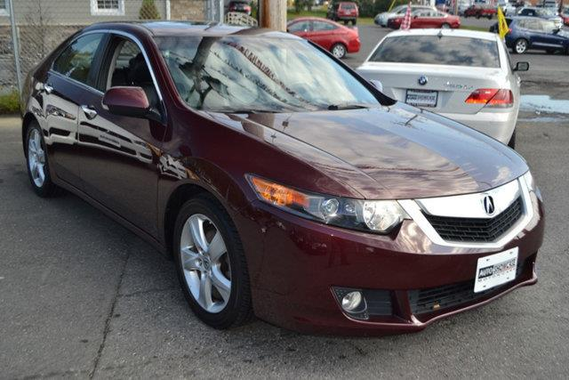 2010 ACURA TSX 5-SPEED AT basque red pearl this 2010 acura tsx 4dr 5-speed at features a 24l 4 c