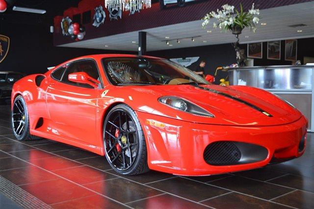 2006 FERRARI F430 F1 2DR COUPE rosso scuderia value priced below market keyless entry this 2