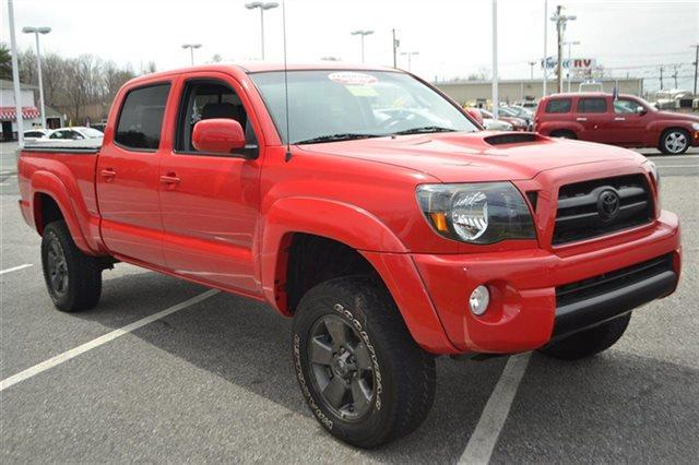 2008 TOYOTA TACOMA V6 4X4 4DR DOUBLE CAB 61 FT LB radiant red value priced below market this