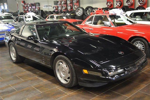 1994 CHEVROLET CORVETTE BASE 2DR HATCHBACK black this 1994 chevrolet corvette 2dr 2dr coupe hatch