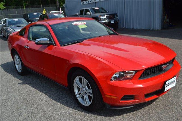 2010 FORD MUSTANG 2DR COUPE V6 COUPE torch red new arrival priced below market this 2010 for