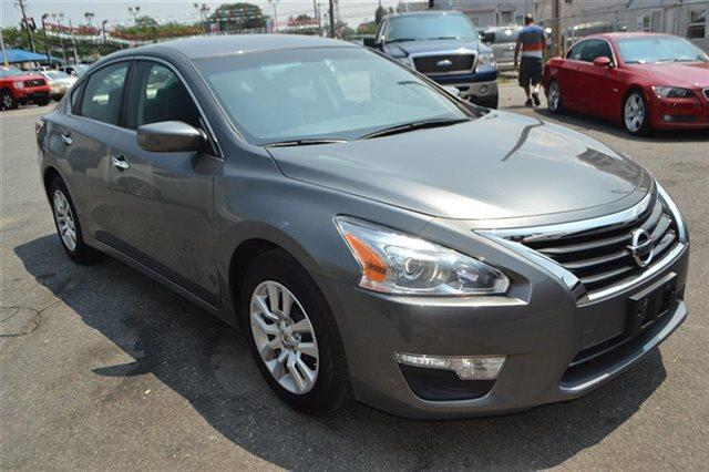 2014 NISSAN ALTIMA - gun metallic warranty a limited warranty is included with this vehicle cont