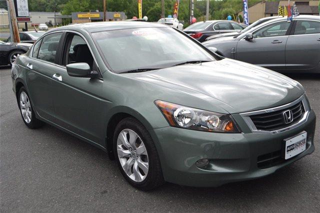 2008 HONDA ACCORD 4DR V6 AUTOMATIC EX-L SEDAN mystic green metallic priced below market this 2