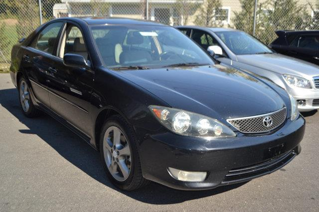 2006 TOYOTA CAMRY SE V6 4DR SEDAN black this 2006 toyota camry 4dr 4dr sedan se v6 automatic feat
