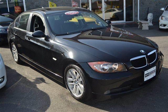 2007 BMW 3 SERIES 328I 4DR SEDAN black sapphire metallic value priced below