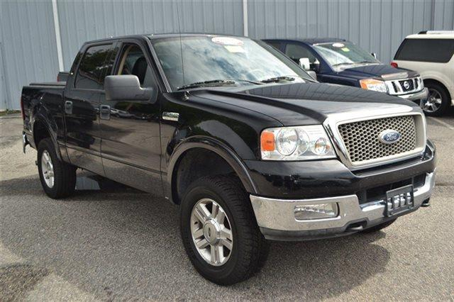 2004 FORD F-150 - 4X4 TRUCK black new arrival this 2004 ford f-150 - 4x4 tr