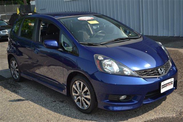 2012 HONDA FIT SPORT 4DR HATCHBACK 5A vortex blue pearl this 2012 honda fit sport will sell fast