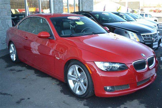 2007 BMW 3 SERIES 335I 2DR CONVERTIBLE red low miles this 2007 bmw 3 series 335i will sell fast