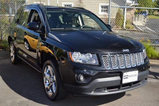 2014 JEEP COMPASS LATITUDE 4X4 4DR SUV black this 2014 jeep compass 4dr 4wd 4dr latitude features