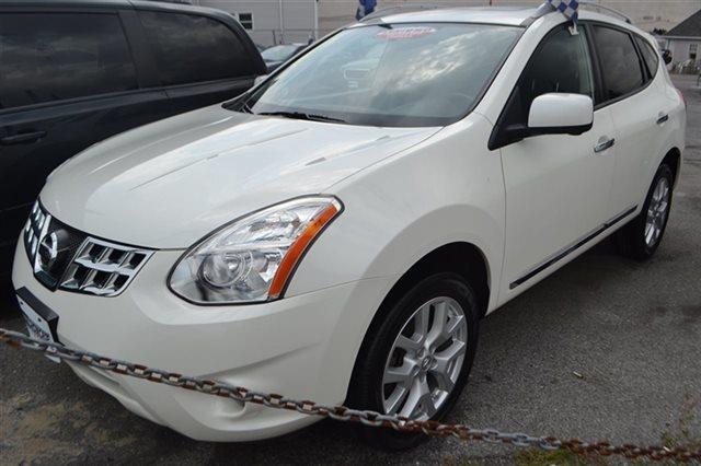2012 NISSAN ROGUE AWD 4DR SL pearl white this 2012 nissan rogue 4dr awd 4dr sl features a 25l 4