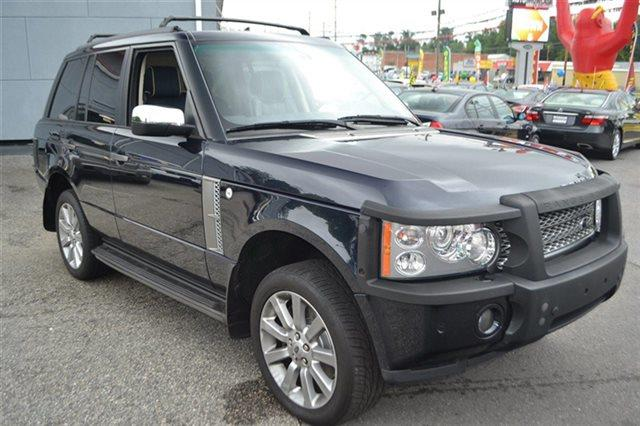 2007 LAND ROVER RANGE ROVER SUPERCHARGED 4DR SUV 4WD buckingham blue priced below market thisra
