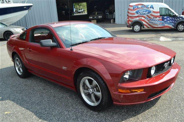 2005 FORD MUSTANG 2DR COUPE GT DELUXE redfire metallic new arrival low miles this 2005 ford