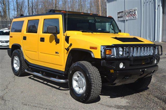 2005 HUMMER H2 4DR WAGON SUV AWD SUV yellow low miles this 2005 hummer h2 suv will sell fast