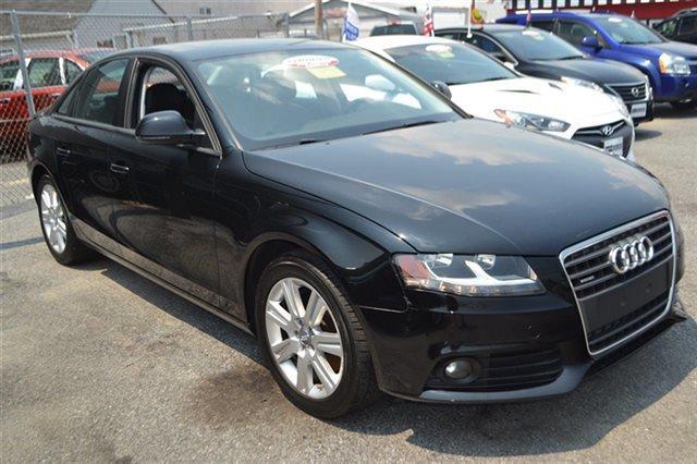 2009 AUDI A4 20T QUATTRO AWD PREMIUM 4DR SED brilliant black low miles this 2009 audi a4 20t