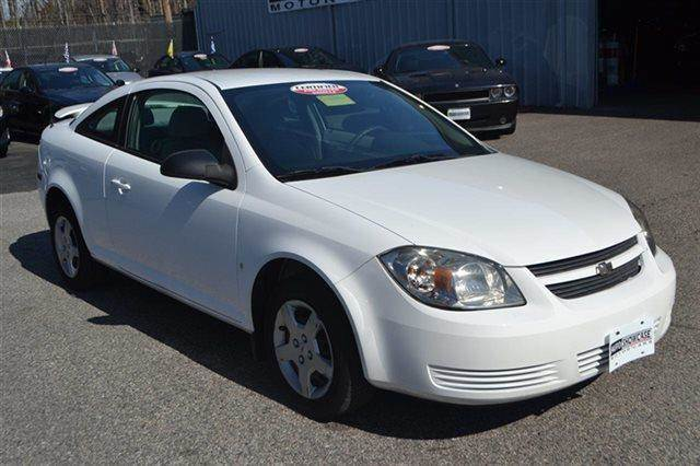 2008 CHEVROLET COBALT LS COUPE white warranty a factory warranty is included with this vehicle c