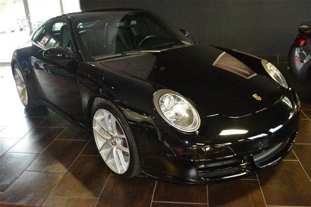 2006 PORSCHE 911 2DR COUPE CARRERA 4 AWD COUPE black this 2006 porsche 911 2dr coupe carrera 4 a