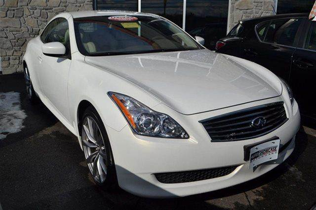 2009 INFINITI G37 CONVERTIBLE BASE 2DR CONVERTIBLE white low miles this 2009 infiniti g37 conve