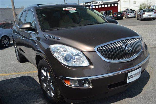 2008 BUICK ENCLAVE CXL SUV cocoa metallic warranty a factory warranty is included with this vehic