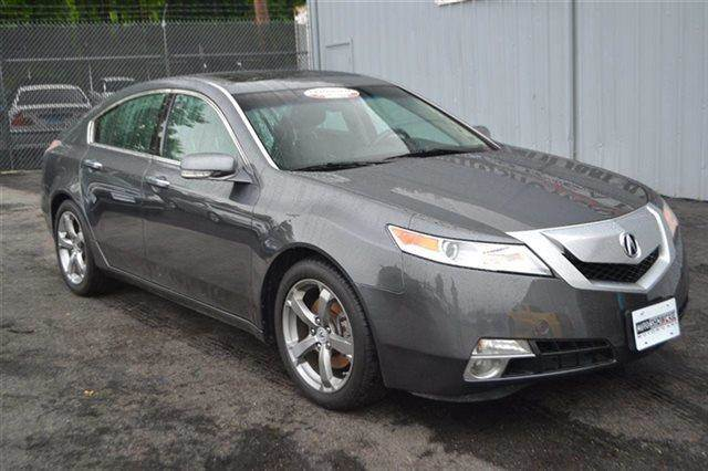 2009 ACURA TL 5-SPEED AT SH-AWD WITH TECH PACK palladium metallic low miles this 2009 acura tl