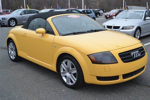 2004 AUDI TT 180HP 2DR ROADSTER imola yellow warranty a factory warranty is included with this ve