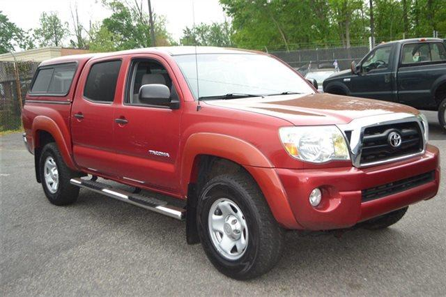 2006 TOYOTA TACOMA PRERUNNER V6 4DR DOUBLE CAB SB  impulse red pearl priced below market thist