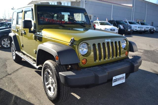 2007 JEEP WRANGLER UNLIMITED X 4X4 4DR SUV green this 2007 jeep wrangler 4dr 4wd 4dr unlimited x