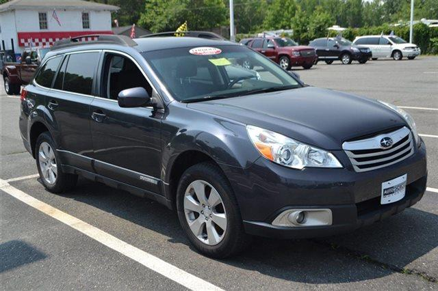 2011 SUBARU OUTBACK 25I PREMIUM AWD 4DR WAGON CVT graphite gray metallic carfax 1-owner low m