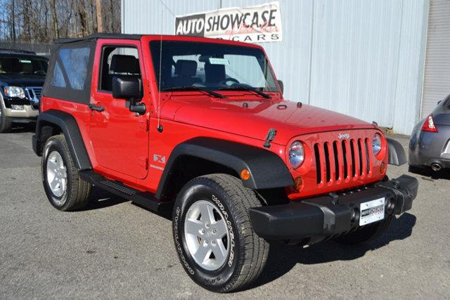 2008 JEEP WRANGLER X 4X4 2DR SUV red this 2008 jeep wrangler 2dr 4wd 2dr x features a 38l v6 cyl