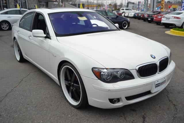 2008 BMW 7 SERIES 750I 4DR SEDAN alpine white this 2008 bmw 7 series 4dr 750i features a 48l v8