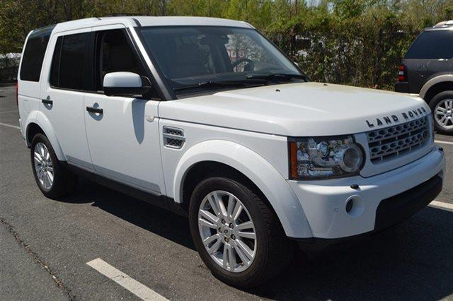 2011 LAND ROVER LR4 BASE 4X4 4DR SUV fuji white 4wd priced below market low miles for a 201