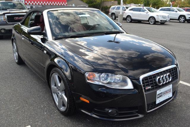2009 AUDI A4 32 QUATTRO AWD 2DR CONVERTIBLE black this 2009 audi a4 2dr 32 cabriolet quattro fe