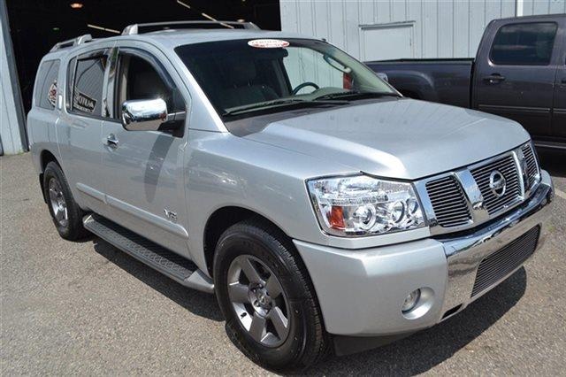 2005 NISSAN ARMADA LE 2WD silver lightning new arrival this 2005 nissan armada se will sell fas