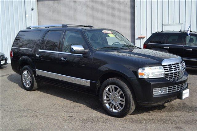 2010 LINCOLN NAVIGATOR L BASE 4X4 4DR SUV black value priced below market heated seats sunro