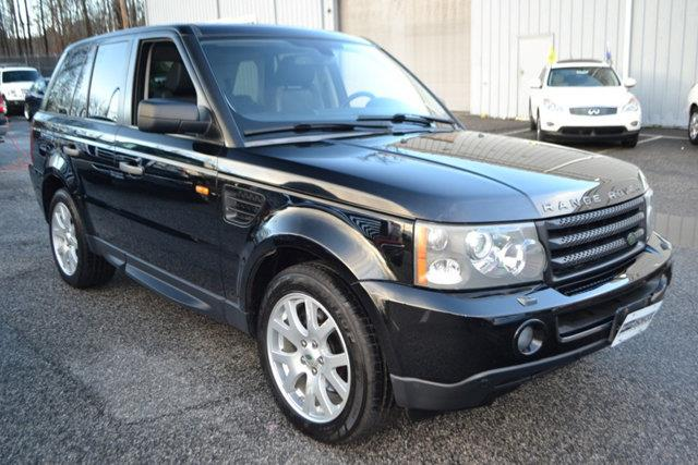2007 LAND ROVER RANGE ROVER SPORT HSE 4DR SUV 4WD black this 2007 land rover range rover sport 4d