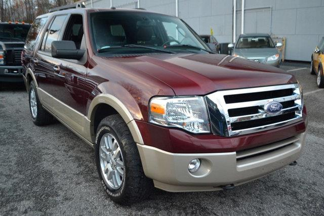 2010 FORD EXPEDITION 4WD 4DR EDDIE BAUER red this 2010 ford expedition 4dr 4wd 4dr eddie bauer fe