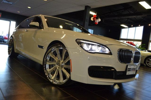 2013 BMW 7 SERIES 740LI XDRIVE AWD 4DR SEDAN white this 2013 bmw 7 series 4dr