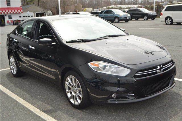 2013 DODGE DART LIMITED 4DR SEDAN pitch black this 2013 dodge dart limited will sell fast leat