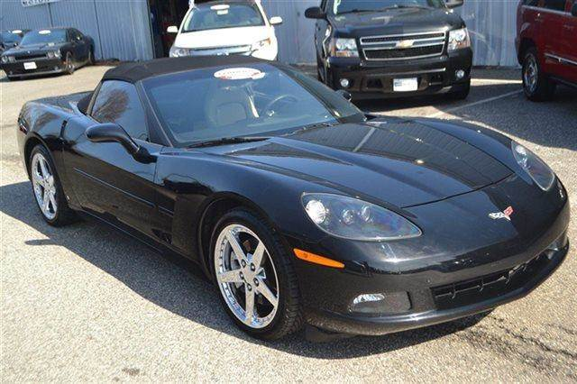 2007 CHEVROLET CORVETTE BASE 2DR CONVERTIBLE black priced below market thiscorvette will sell f