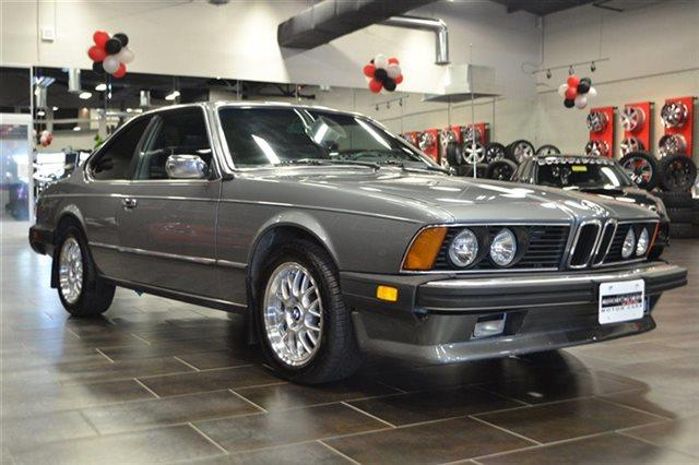 1982 BMW 6 SERIES 633CSI 2DR COUPE grey this 1982 bmw 6 series 633csi features a 32l v6 cylinder
