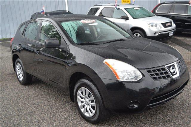 2008 NISSAN ROGUE S AWD CROSSOVER 4DR wicked black new arrival 4wd priced below market thi