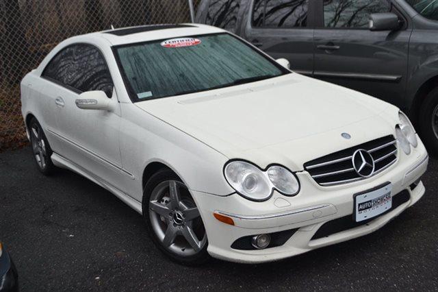 2007 MERCEDES-BENZ CLK-CLASS CLK550 2DR COUPE arctic white priced below market auto climate co