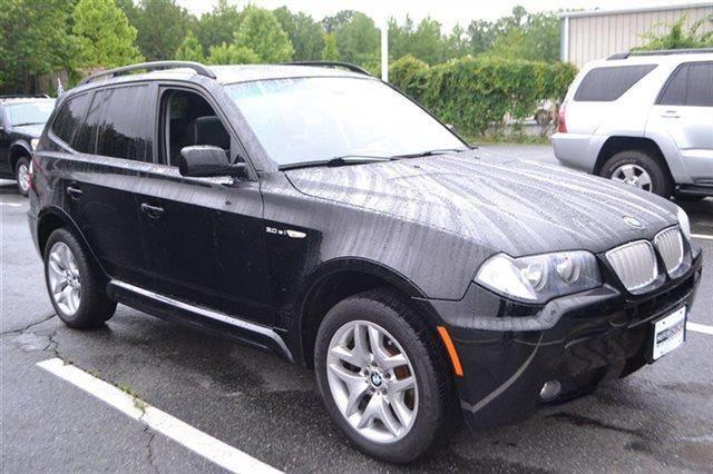 2008 BMW X3 30SI AWD 4DR SUV black sapphire metallic new arrival this 2008 bmw x3 30si will se