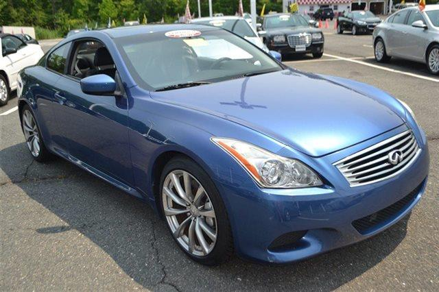 2008 INFINITI G37 - COUPE athens blue keyless start automatic low miles popular color ca