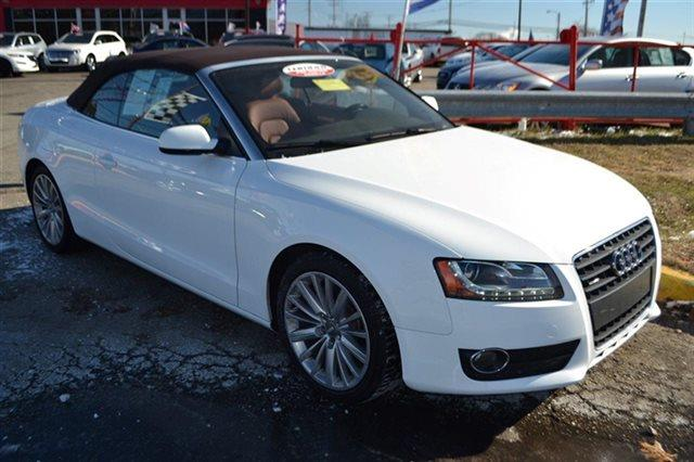 2010 AUDI A5 20T QUATTRO PREMIUM PLUS AWD 2D white carfax one owner - carfax guarantee this 2