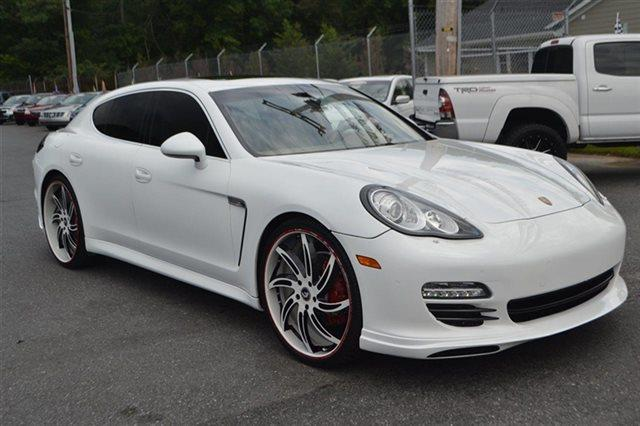 2010 PORSCHE PANAMERA S SEDAN carrera white new arrival park distance control heated seats