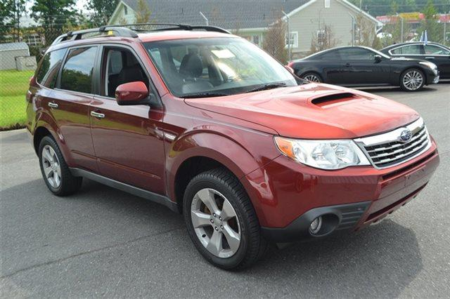 2009 SUBARU FORESTER 25XT LIMITED 4X4 SUV red 4wd this 2009 subaru forester natl 25xt limit