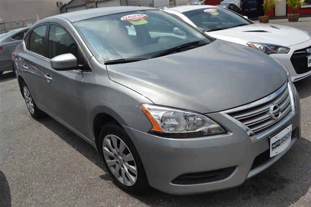 2014 NISSAN SENTRA SV 4DR SEDAN magnetic gray low miles for a 2014 popular color combo abs br