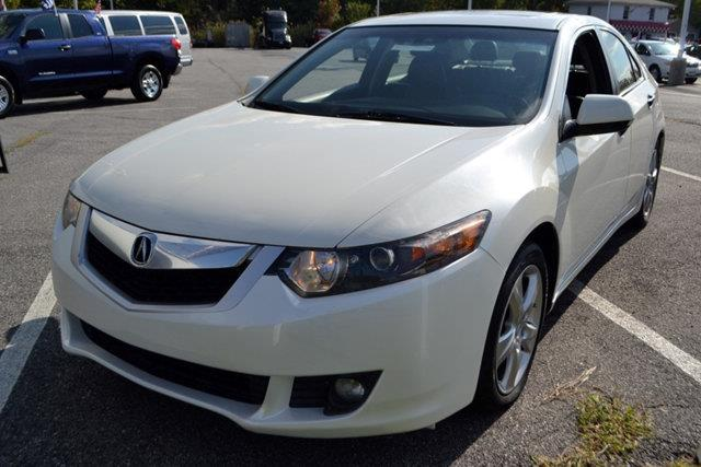 2010 ACURA TSX 5-SPEED AT white this 2010 acura tsx 4dr 5-speed at features a 24l 4 cylinder 4cy