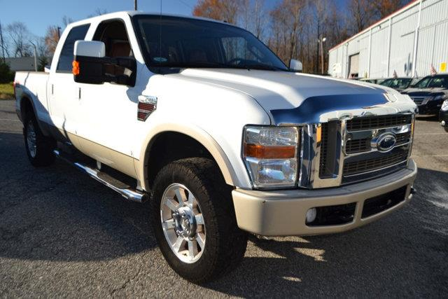 2008 FORD F-250 SUPER DUTY - white this 2008 ford super duty f-250 srw - features a 64l 8 cylind