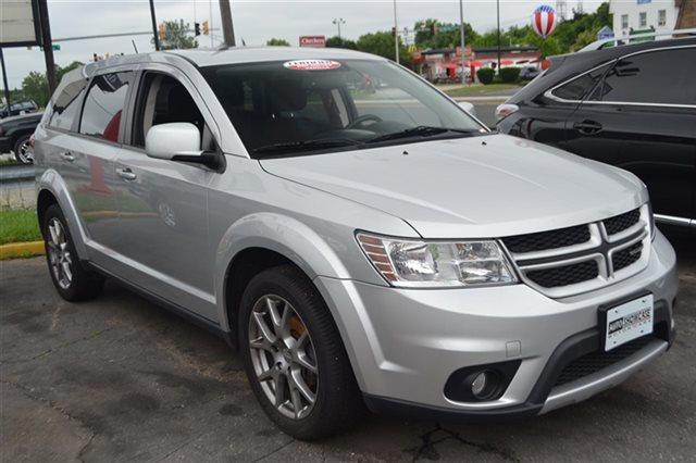 2011 DODGE JOURNEY RT AWD 4DR SUV bright silver metallic warranty included a limited warranty i